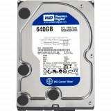 Hard-disk PC WD 640 GB Blue, Sata2, 7200 rpm, 16MB, 100% health L63, 500-999 GB, Western Digital