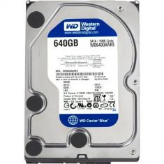 Cumpara ieftin Hard-disk PC WD 640 GB Blue, Sata2, 7200 rpm, 16MB, 100% health L63