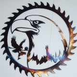 Metal Art, decoratiune de perete din metal Vultur