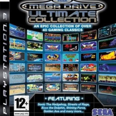 Sega Mega Drive Ultimate Collection Ps3 - Jocuri PS3 Sega, Arcade, 12+