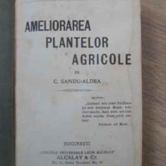 Ameliorarea Plantelor Agricole - C. Sandu-aldea, 390708 - Carti Agronomie