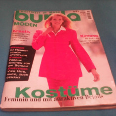 REVISTA MODA BURDA MODEN NR.8/1995 CU TIPARE GERMANA