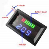 Indicator nivel baterie 12v , nou