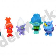 Set 6 figurine troli trolls - Figurina Povesti