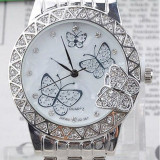 ⌚️ Ceas Butterfly Silver - Ceas dama, Quartz