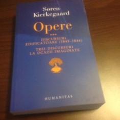 SOREN KIERKEGAARD, OPERE 3, DISCURSURI EDIFICATOARE - Carti Crestinism