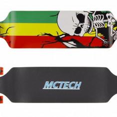 Longboard Drop-Down Rasta ABEC 9 NOU - Skateboard Nespecificat, Barbati