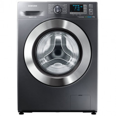 Masina de spalat rufe SAMSUNG WF70F5E5U4X/LE, Clasa energetica A+++, Capacitate 7 kg, 1400 RPM, Incarcare frontala, Crom