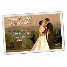 Magneti personalizati marturii nunta
