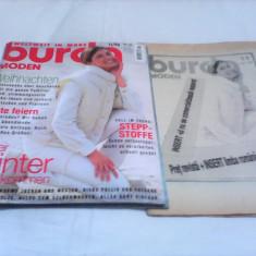 REVISTA MODA BURDA MODEN NR.11/1996 CU TIPARE GERMANA+INSERT LIMBA ROMANA