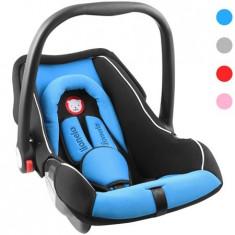 Lionelo Scaun auto copii 0-13 Kg Noa Blue, 0+ (0-13 kg), Isofix