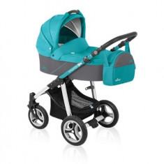 Baby design lupo 05 turquoise 2016 - cărucior multifuncţional 2 in 1 - Carucior copii 2 in 1