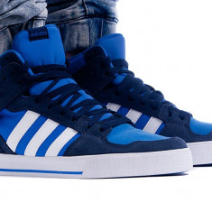 Ghete originale ADIDAS HOOPS MID - Ghete barbati Adidas, Marime: 42, 42 2/3, 44, 44 2/3, Culoare: Din imagine