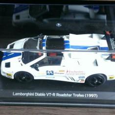 Macheta - Lamborghini Diablo VT-R Roadster 1997 - Whitebox 1:43 - Macheta auto