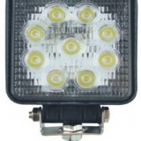 Proiector LED 27W 12/24V CH006-27W Flood Beam 60° SLIM