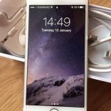 iPhone 6 Apple gold neverlocked 16gb full box, Auriu, Neblocat