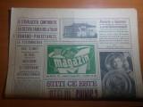 ziarul magazin 13 ianuarie 1973-articol scris de adrian paunescu