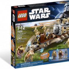 LEGO - Star Wars The Battle of Naboo #7929, 10-14 ani