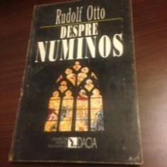 RUDOLF OTTO, DESPRE NUMINOS