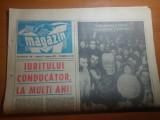 Ziarul magazin 27 ianuarie 1973-ziua de nastere a lui ceausescu