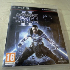 Star Wars the Force Unleashed II, PS3, original, alte sute de jocuri! - Jocuri PS3 Altele, Actiune, 16+, Single player