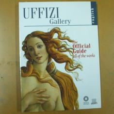 Uffizi Florenta Italia ghid oficial al galeriei 2001 Florence official guide - Album Muzee