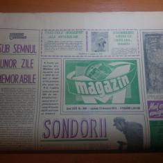 Ziarul magazin 3 februarie 1973-articol scris de adrian paunescu
