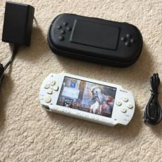PSP Sony MODAT+husa card 8GB 70 JOCURI PSP Sony+1000 jocuri nintendo Super Mario+accesorii