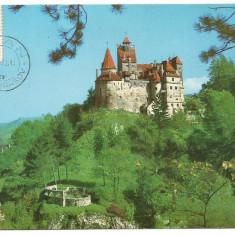 No(1)ilustrata maxima-Castelul Bran, Romania de la 1950, An: 1972, Case