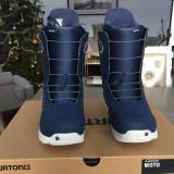 Boots/Buti Snowboard Burton MOTO Blue - US8 - 41 - 2017 - NOI Sigilati