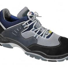Pantofi protectie Elten Industry TX S1, piele nabuc, bombeu din otel