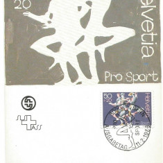 No(1)ilustrata maxima-ELVETIA-Pro Sport, Europa, An: 1986