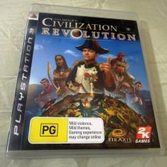 Sid Meier's Civilization Revolution, PS3, original, alte sute de jocuri! - Jocuri PS3 Altele, Strategie, 3+, Single player