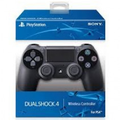 Controller DualShock 4 Wireless Black PS4, originale, v. 2, noi, proba