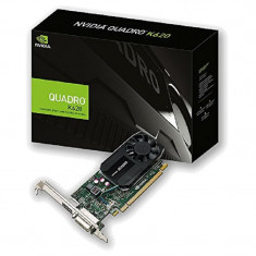 Placa video PNY NVIDIA VCQK620-PB, Quadro K620, PCI-E 2.0, 2048MB DDR3, 128 bit, 29 GB/s, DVI, DP, LP, FAN bulk - Placa video PC PNY, PCI Express, 2 GB