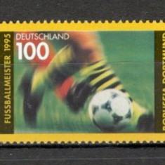 Germania.1995 Borussia Dortmund-campioana nationala la fotbal  SG.870, Nestampilat