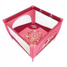 Tarc de joaca cu inele ajutatoare Baby Design Play UP 08 pink 2015