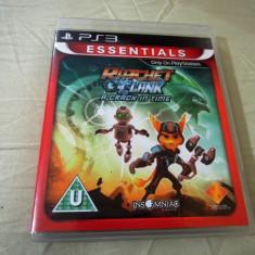Ratchet and Clank a Crack in Time, PS3, original, alte sute de jocuri! - Jocuri PS3 Altele, Actiune, 16+, Single player