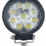 Proiector LED 27W 12/24V CH007-27W Flood Beam 60° SLIM