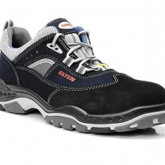 Pantofi protectie Elten Industry Low S2, piele nabuc