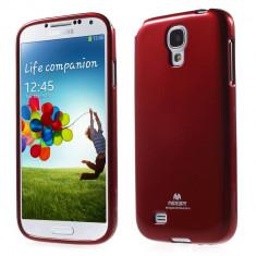 Husa Samsung Galaxy S4 I9500 NEWSETS MERCURY Glitter TPU Rosie / Red - Husa Telefon