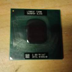 Procesor Laptop Intel Pentium Dual-Core T3200 2, 00GHz Socket P, 2000-2500 Mhz, Numar nuclee: 2, P
