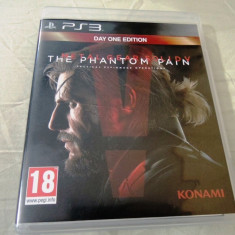 Metal Gear Solid V the Phantom Pain, PS3, original, alte sute de jocuri! - Jocuri PS3 Altele, Actiune, 18+, Single player