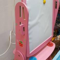 Tabla de scris si magnetica reglabila Roz - Tabla pentru scoala