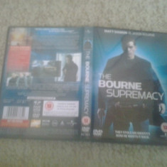 The Bourne Supremacy (2004) – DVD - Film thriller, Engleza