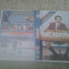 Will Ferrell – Anchorman – The legend of Ron Burgundy (2006) - DVD - Film comedie, Engleza