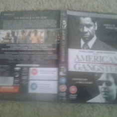 American Gangster (2007) – Extended Edition - DVD - Film thriller, Engleza