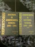 Jurisprudenta si Doctrina Romana 1989 -1994 - 2vol
