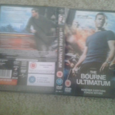 The Bourne Ultimatum (2007) – DVD - Film thriller, Engleza