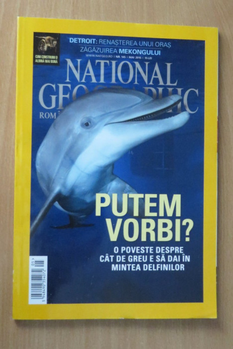 National Geographic Romania #Mai 2015 - Delfinii